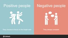 8 Crucial Differences Between Positive People And Negative People