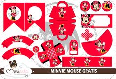 "Muriartes Blog: Free ""Minnie Mouse"" Party Kit-customizable!"