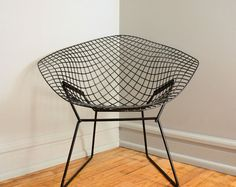 knoll bertoia diamond chair. like fishnet stockings, but with actual support you can trust.