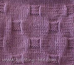 free cobblestones stitch and dishcloth knitting pattern from http://www.knitting-bee.com/free-knitting-patterns/dishcloths/cobblestones-stitch