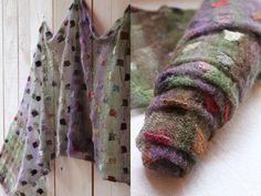 fantastique... Textile Patterns, Knitting Patterns, Creative Knitting, Fibre And Fabric, Yarn Shop, Nuno Felting, Knitted Shawls, Knitting Yarn, Knitting Projects
