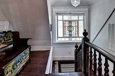 Spectacular Victorian, Has been meticulously renovated to blend modern conveniences and Victorian Style. Grand staircase, gorgeous floors, mouldings, working pocket doors. New kitchen, master suite, roof, electrical, garage...Even a garden pool feature for outside entertaining. By appointment only.