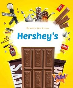Engaging images accompany information about Hershey's. The combination of high-interest subject matter and narrative text is intended for students in grades 3 through 7.