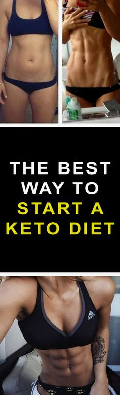 How to start a Keto diet the easy way. A quick yet comprehensive guide not only for weight loss beginners. Sticking to the Ketogenic diet really is one of the most effective ways to lose weight. Ketosis Diet, Metabolic Diet, Ketogenic Diet, Ketogenic Recipes, Macrobiotic Recipes, Lchf Diet, Keto Diet Plan, Diet Meal Plans, Paleo Diet