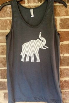 Alabama Elephant Tank by FromEtoYou202 on Etsy, $22.00