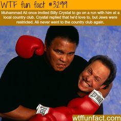 Muhammad Ali and Billy Crystal -  WTF fun facts