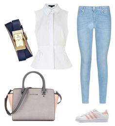 """""""Untitled #4"""" by jamslzr on Polyvore featuring 7 For All Mankind, adidas Originals, Alexander Wang, Tory Burch, women's clothing, women, female, woman, misses and juniors"""