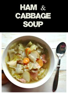 Ham cabbage soup The Ultimate Party Week 45