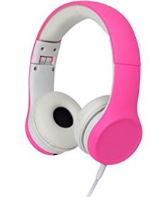 Snug Play+ Kids Headphones Volume Limiting and Audio Sharing Port (Pink)