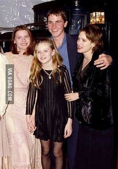 claire danes and winona ryder   20 years ago, Claire Danes, Christian Bale, Winona Ryder, Kirsten ...