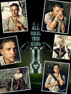 All hail the king! King Arthur ~ Charlie Hunnam ♥