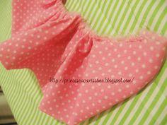 E hoje vai ser uma festa!: Rosa de tecido - passo a passo, como fazer