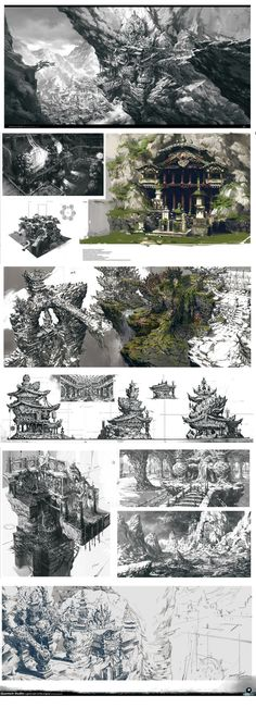 sketches by yangqi917 - Yang Qi - CGHUB via PinCG.com