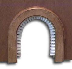 interior pet door alternate - now with brush.$29