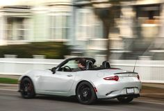 """Crossing the 20,000-mile mark, our long-term Miata so compellingly delivers on its promise of being simply a fun car to drive that our logbook notes have fallen into a predictable template: """"The Miata [some trivial concern], but the car is so satisfying, I just don't care."""" . #Mazda #Miata #MX5 #MX5Miata #MazdaMiata #MazdaMX5 #TheAnswerIsAlwaysMiata"""