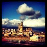 Iglesia de Elciego.  Foto compartida en Twitter por @DjCalavera