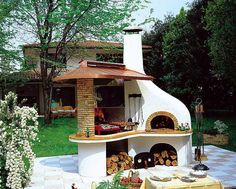 outdoor bbq kitchen | Outdoor BBQ Kitchen Islands Spice Up Backyard Designs and Dining ...