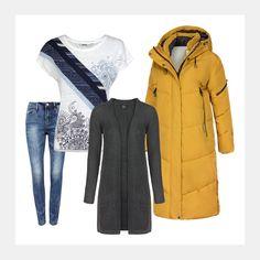 Bock auf einen neuen Look für die kühleren Tage? www.94fashionstore.de Raincoat, Polyvore, Jackets, Shopping, Image, Women, Fashion, New Looks, Rain Jacket
