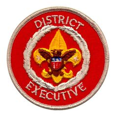 How much is a District Executive worth? Boy Scout Patches, Boy Scouts, Scouting, Usa, Scout Badges, Boy Scouting, Scouts, U.s. States
