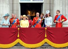 Prince Harry - ROYALS At Buckingham Palace After Trouping The Colour Ceremony