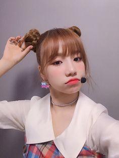 Kpop Girl Groups, Korean Girl Groups, Kpop Girls, I Love Girls, Cool Girl, Baby Girls, Trendy Hairstyles, Bob Hairstyles, Yuri