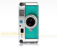 Camera iPod Touch 5 case Turquoise iPod by DesigneriPhoneCase, $14.99
