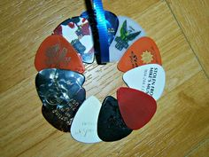 Elvis Presley Guitar Pick Art I made this one for my dad as a