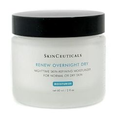 Best Anti-Wrinkle Night Cream: Skinceuticals Renew Overnight Dry Skin-refining Moisturizer
