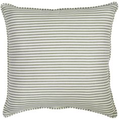 Smith & Hawken, Outdoor Throw Pillow (34 CAD) ❤ liked on Polyvore featuring home, outdoors, outdoor decor and striped outdoor pillows