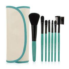Professional Colored Makeup Brush 7pcs Set