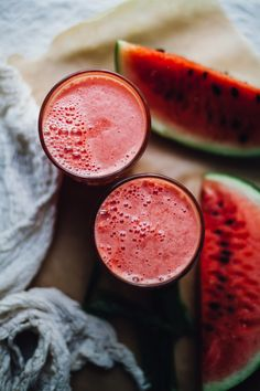 watermelon coconut aloe juice | the most re-hydrating EASY juice ever! perfect for summer! recipe via will frolic for food