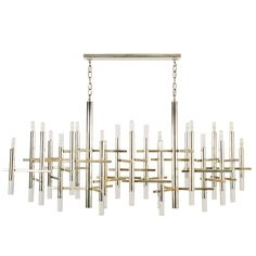 Rare Gaetano Sciolari Chandelier | From a unique collection of antique and modern chandeliers and pendants at https://www.1stdibs.com/furniture/lighting/chandeliers-pendant-lights/