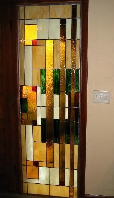 Bending particle waves stained glass panel beautiful glass stained glass door sidelight planetlyrics Gallery