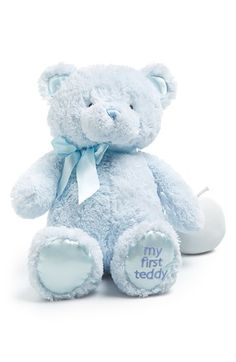 Baby Gund 'My First Teddy' Stuffed Bear available at #Nordstrom