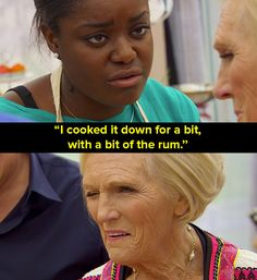 """When Benjamina knew how to bribe the judges.   The 39 Most Memorable Moments From """"Bake Off"""" 2016"""