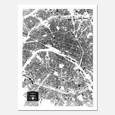 The Buildings of Paris Print, 25€, now featured on Fab.