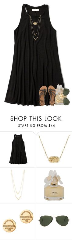 """""""wanting someone so bad that you can't have """" by preppymilitarybrat ❤ liked on Polyvore featuring Abercrombie & Fitch, Kendra Scott, Jennifer Zeuner, Marc by Marc Jacobs, Tiffany & Co., Ray-Ban and Billabong"""