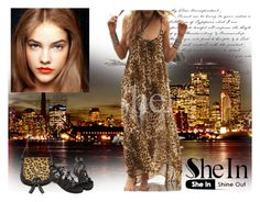 """SheIn VI/1"" by nadatrixi ❤ liked on Polyvore featuring Louche and Sheinside"