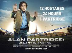 Alan Partridge: Alpha Papa – New Quad Poster