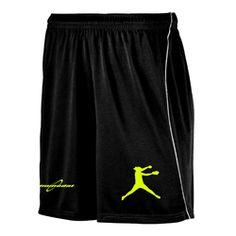 Softball Shorts  www.gimmedatusa.com