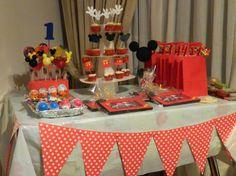 Mesa dulce Mickey Mouse   Feria Central