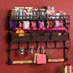 I pinned this Lynbar Wall-Mount Storage Rack from the Operation: Organization event at Joss and Main!