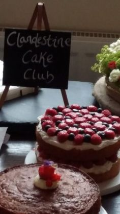 Clandestine Cake Club - Shrewsbury. Celebrating the Queen.  Find your local club on our website