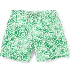 Stand out at the pool, on the beach or just in your own back garden with MR PORTER's collection of designer men's swimwear for the discerning gentleman. Summer Shorts, Swim Shorts, Mens Boardshorts, Mr Porter, Mid Length, Gentleman, Cool Style, Trunks, Menswear