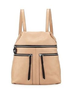 Chloe Leather Backpack, Almond at Last Call by Neiman Marcus