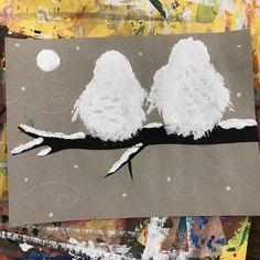 Elements of the Art Room: Kindergarten Snowy Owls