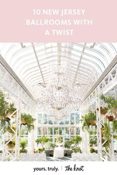 Bring the outdoors in with a garden ceremony at The Madison Hotel's Conservatory, a truly one-of-a-kind, unique space.
