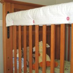 Crib protector... for babies who chew on their cribs.