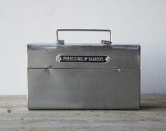 【楽天市場】STEEL TOOL BOX / スチール ツール ボックスPUEBCO プエブコ 工具箱 工具 ケース スチール 小物入れ:interiorzakka ZEN-YOU