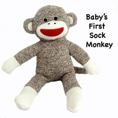 Baby's First Sock Monkey